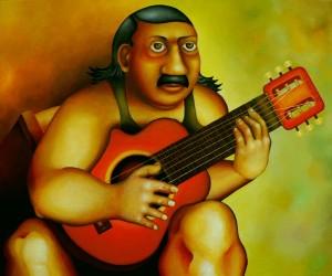 Fernando 50 x 70 cm – Acrylic on canvas