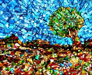 Landscape – Acrylic on canvas