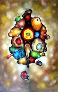 Organism – Oil on canvas