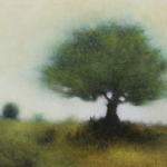 Tree - Oil on canvas - 20 x 30 cm