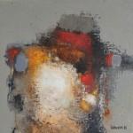 Untitled - 20 x 20 cm - Acrylic on canvas board