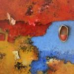 Untitled - 24 x 18 cm - Acrylic on canvas board