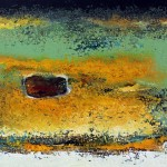 Untitled - Acrylic on canvas - 20 x 35 cm