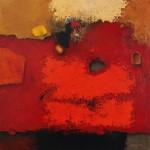 Untitled - Acrylic on canvas - 29 x 29 cm