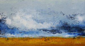 Clouds – 25 x 45 cm – Acryl on canvas