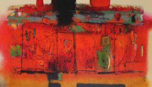 Untitled – 40 x 70 cm – Acrylic on canvas