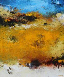 Landscape – 46 x 38 cm – Acrylic on canvas board