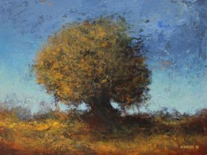Tree – 18 x 24 cm – Acrylic on canvas board