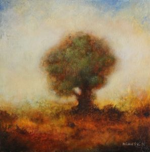 Tree – 20 x 20 cm – Acrylic on canvas board