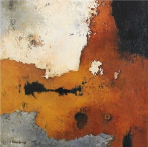 brown earth – Acrylic on canvas – 30 x 30 cm
