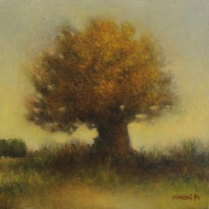 Tree – 20 x 20 cm – Oil on canvas board