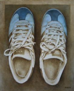 Adidas – 55 x 45 cm – Oil on canvas