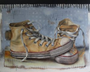 Converse – 80 x 100 cm – Acrylic on canvas
