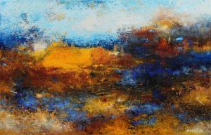 Flood – Acrylic on canvas