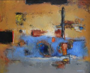 The Station – 33 x 41 cm – Acrylic on canvas