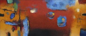 Untitled – 30 x 70 cm – Acrylic on canvas