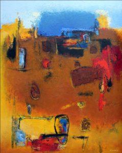 Untitled – 50 x 40 cm – Acrylic on canvas