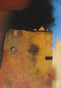 Tower – Acrylic on canvas – 50 x 35 cm