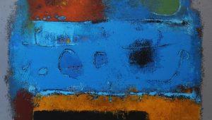 Untitled – Acrylic on canvas – 40 x 70 cm