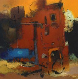 Untitled – Acrylic on canvas – 70 x 70 cm