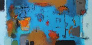 Untitled – Acrylic on canvas – 50 x 100 cm