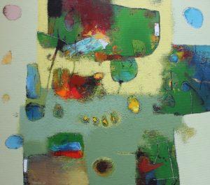 Untitled – Acrylic on canvas – 70 x 80 cm