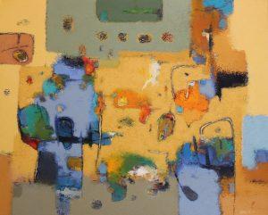 Untitled – Acrylic on canvas – 80 x 100 cm