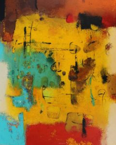 Untitled – 100 x 80 cm – Acrylic on canvas