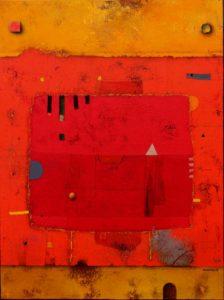Red – 80 x 60 cm – Acrylic on canvas