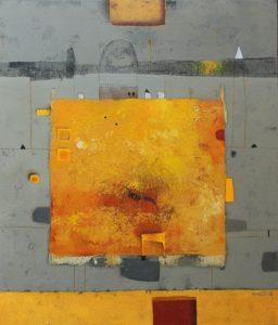 Temple – 70 x 60 cm – Acrylic on canvas