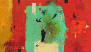Fifty-five – 70 x 40 cm – Acrylic on linen