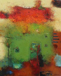 House – Acrylic on linen – 50 x 40 cm