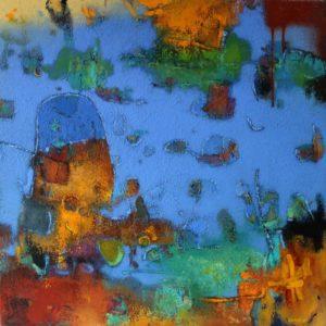 Seascape – Acrylic on canvas – 70 x 70 cm