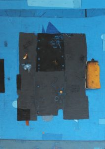 Black tower – Acrylic on linen canvas – 70 x 50 cm