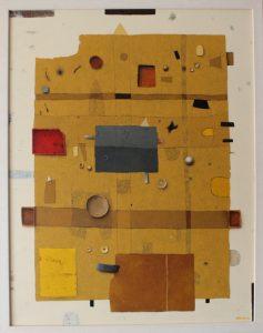 The Earth Board – Acrylic on canvas – 90 x 70 cm