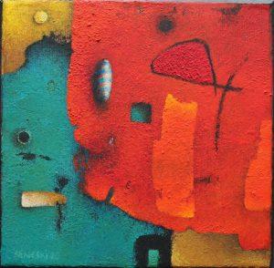 Untitled – Acrylic on canvas – 20 x 20 cm