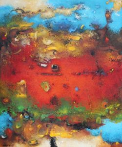 Surreal Landscape – Oil on canvas – 50 x 60 cm