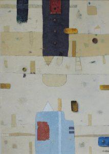 Titan B Board – Oil on canvas – 50 x 70 cm