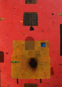 25 P – Acrylic on canvas – 70 x 50 cm